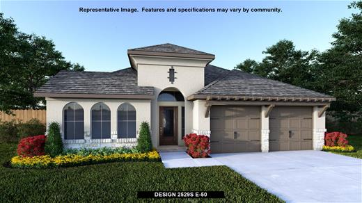 New Home Design, 2,529 sq. ft., 4 bed / 3.0 bath, 3-car garage