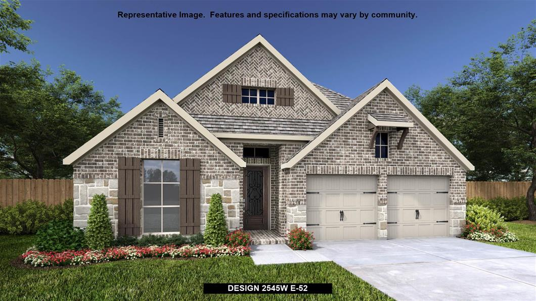 New Home Design, 2,545 sq. ft., 4 bed / 3.0 bath, 2-car garage