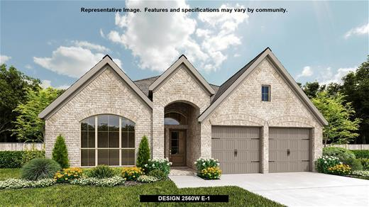 New Home Design, 2,560 sq. ft., 4 bed / 3.0 bath, 2-car garage