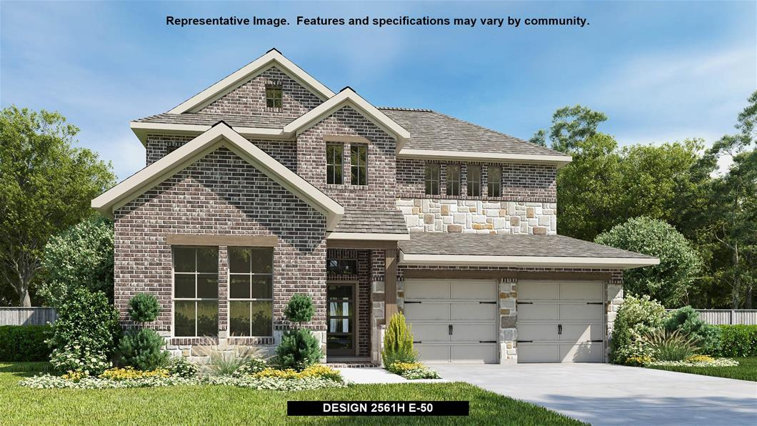 New Home Design, 2,561 sq. ft., 4 bed / 3.0 bath, 2-car garage