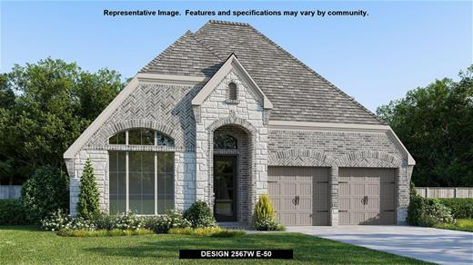 New Home Design, 2,567 sq. ft., 4 bed / 3.0 bath, 2-car garage