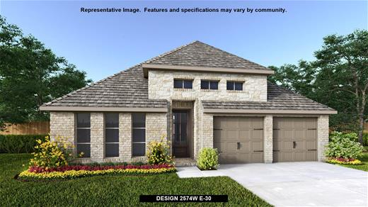 New Home Design, 2,574 sq. ft., 4 bed / 3.0 bath, 2-car garage