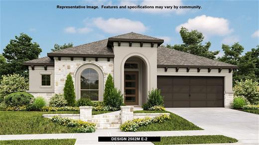 New Home Design, 2,582 sq. ft., 4 bed / 3.0 bath, 2-car garage