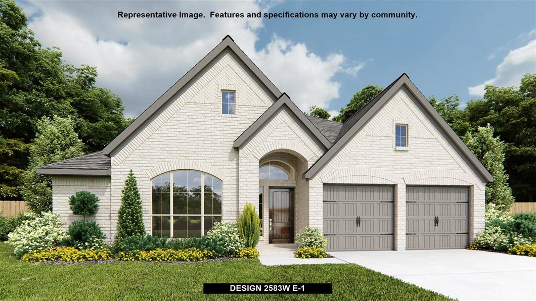 New Home Design, 2,583 sq. ft., 3 bed / 3.0 bath, 2-car garage