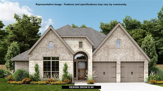 New Home Design, 2,583 sq. ft., 4 bed / 3.5 bath, 2-car garage