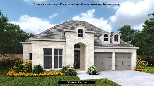 New Home Design, 2,586 sq. ft., 4 bed / 3.0 bath, 2-car garage