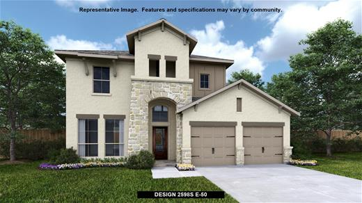 New Home Design, 2,598 sq. ft., 4 bed / 3.5 bath, 2-car garage