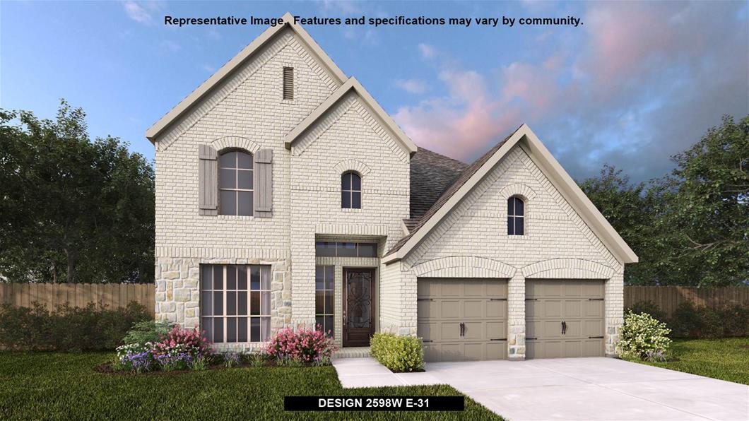 New Home Design, 2,598 sq. ft., 4 bed / 2.5 bath, 3-car garage