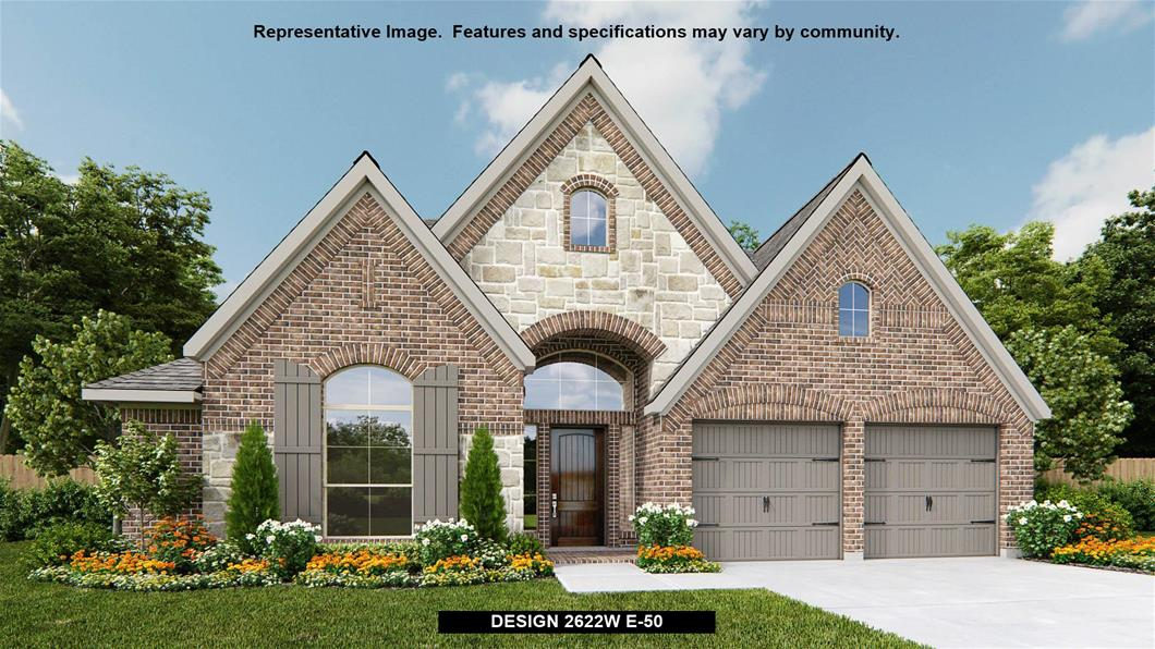 New Home Design, 2,622 sq. ft., 4 bed / 3.0 bath, 2-car garage