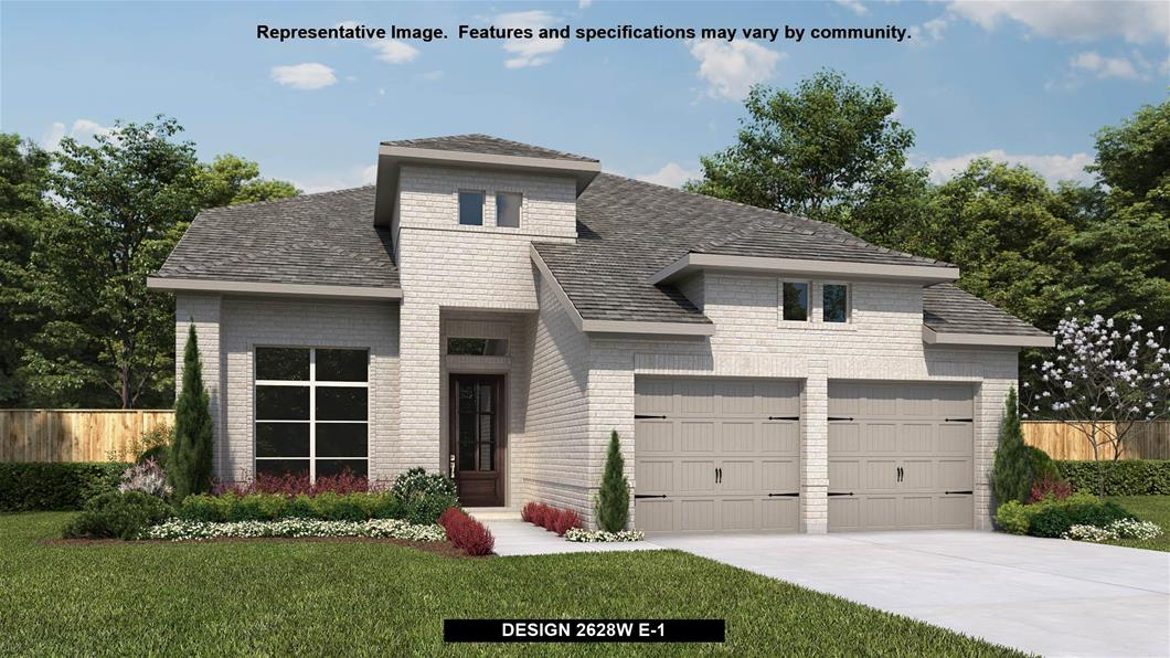 New Home Design, 2,628 sq. ft., 4 bed / 3.0 bath, 2-car garage