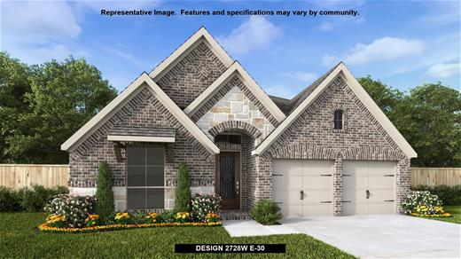 New Home Design, 2,728 sq. ft., 4 bed / 3.0 bath, 2-car garage