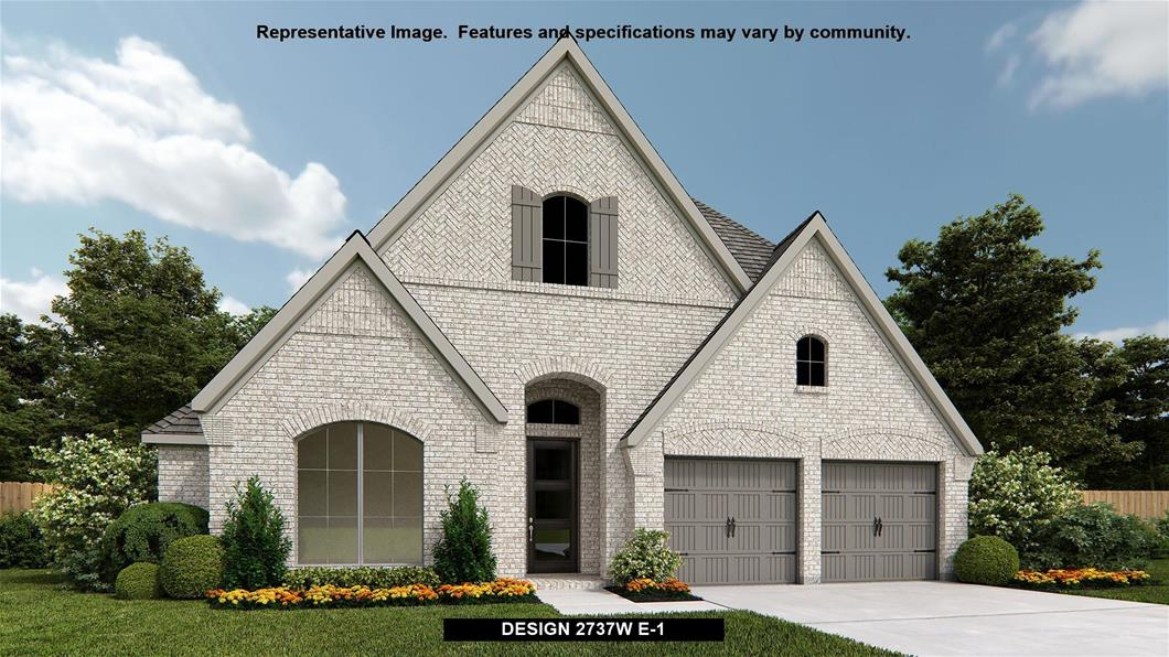 New Home Design, 2,737 sq. ft., 4 bed / 3.0 bath, 2-car garage