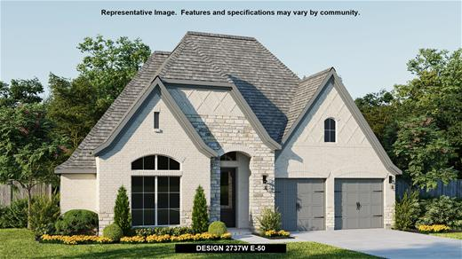 New Home Design, 2,737 sq. ft., 4 bed / 3.5 bath, 2-car garage