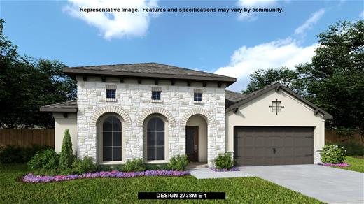 New Home Design, 2,738 sq. ft., 4 bed / 3.0 bath, 2-car garage