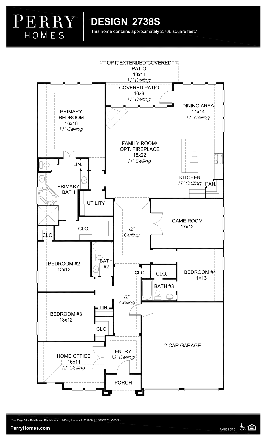 Floor Plan for 2738S