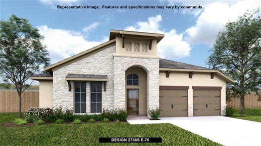 New Home Design, 2,738 sq. ft., 4 bed / 3.0 bath, 3-car garage
