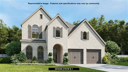 New Home Design, 2,797 sq. ft., 4 bed / 3.0 bath, 2-car garage