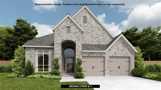 New Home Design, 2,798 sq. ft., 4 bed / 3.0 bath, 2-car garage