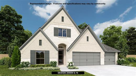 New Home Design, 2,895 sq. ft., 4 bed / 3.* bath, 3-car garage