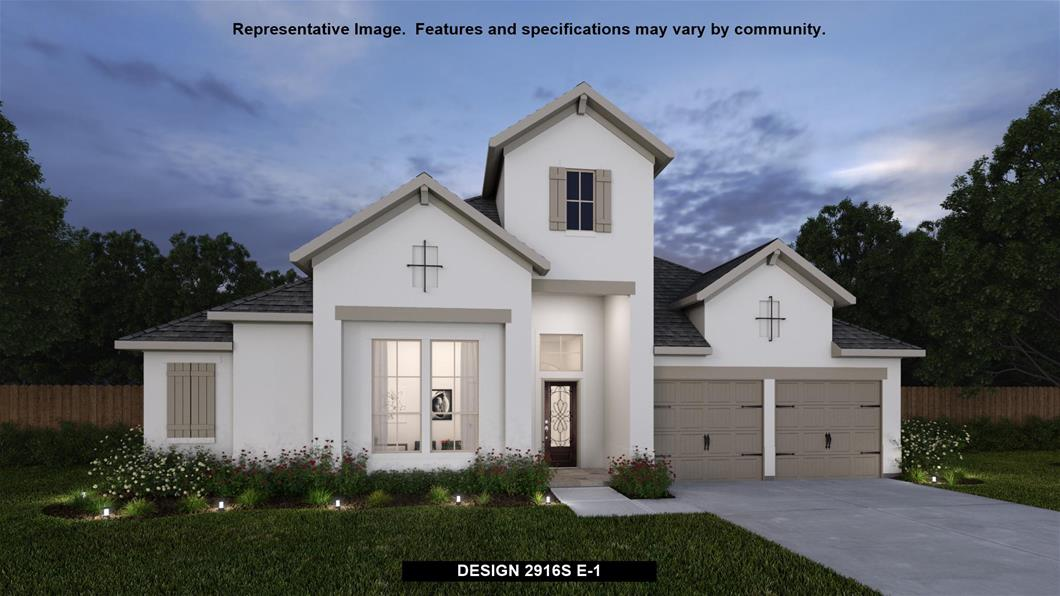 New Home Design, 2,916 sq. ft., 4 bed / 3.0 bath, 3-car garage