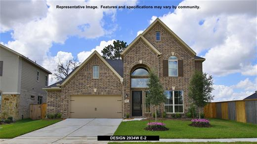 New Home Design, 2,934 sq. ft., 4 bed / 3.5 bath, 2-car garage