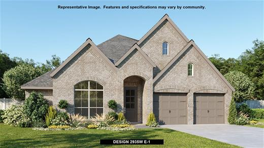 New Home Design, 2,935 sq. ft., 4 bed / 3.0 bath, 2-car garage