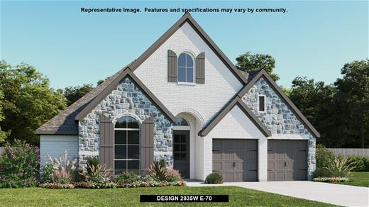 New Home Design, 2,935 sq. ft., 4 bed / 3.5 bath, 2-car garage