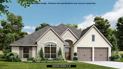 New Home Design, 2,939 sq. ft., 4 bed / 3.0 bath, 2-car garage