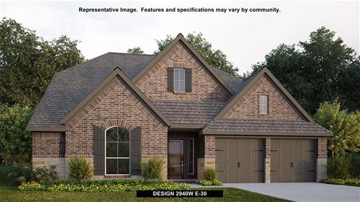 New Home Design, 2,940 sq. ft., 4 bed / 3.0 bath, 2-car garage