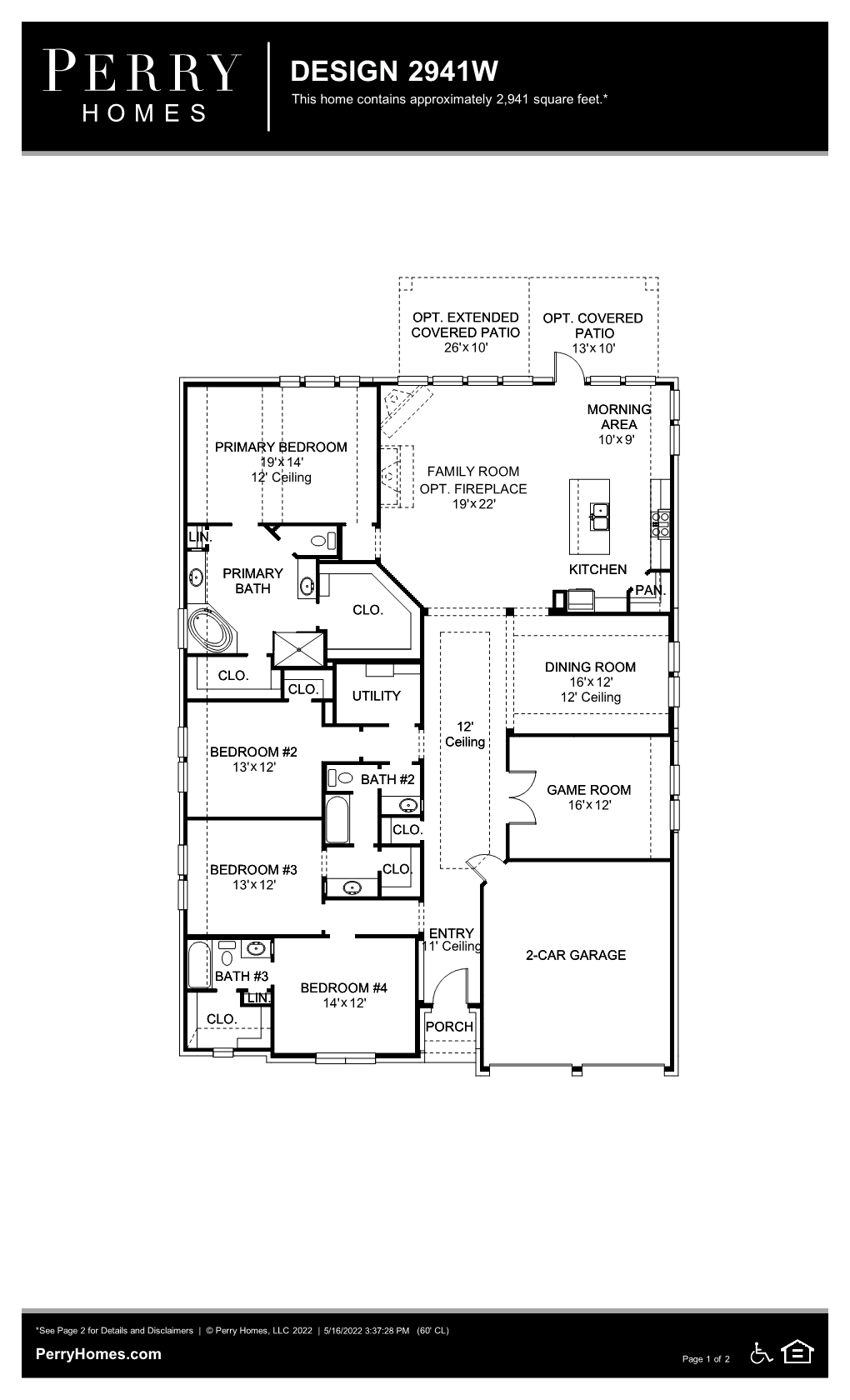 Floor Plan for 2941W