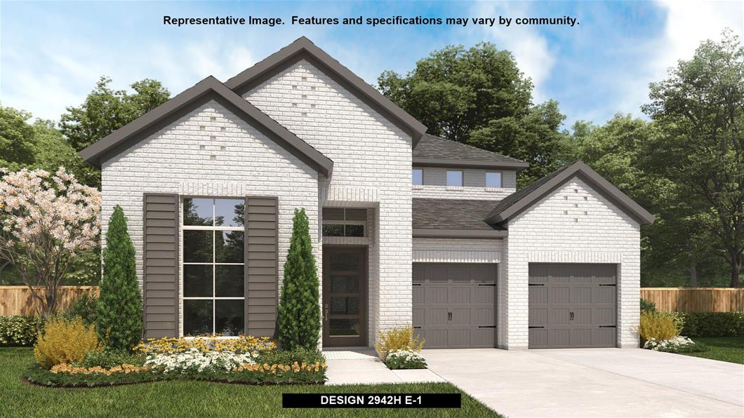 New Home Design, 2,942 sq. ft., 4 bed / 3.0 bath, 3-car garage