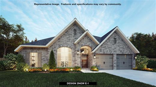 New Home Design, 2,942 sq. ft., 4 bed / 3.0 bath, 2-car garage