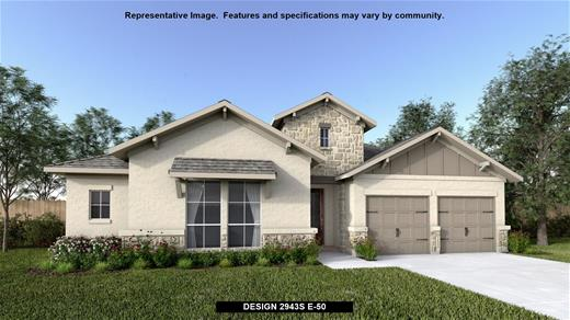New Home Design, 2,943 sq. ft., 4 bed / 3.0 bath, 3-car garage