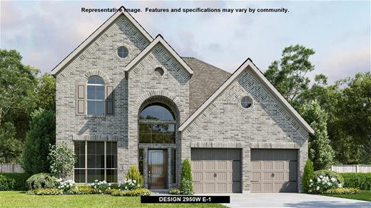 New Home Design, 2,950 sq. ft., 4 bed / 3.5 bath, 3-car garage