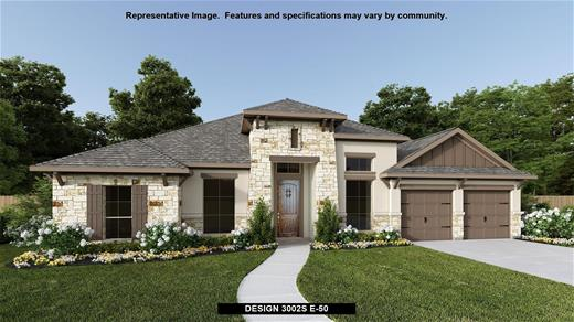 New Home Design, 3,002 sq. ft., 4 bed / 3.0 bath, 3-car garage