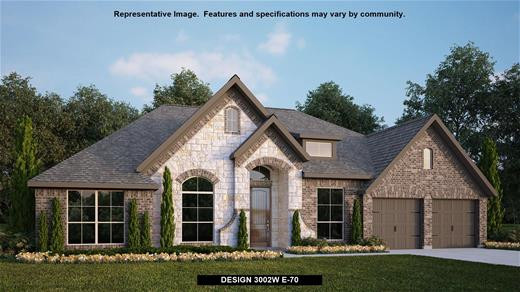 New Home Design, 3,002 sq. ft., 4 bed / 3.5 bath, 3-car garage