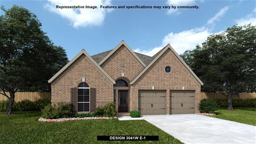 New Home Design, 3,041 sq. ft., 4 bed / 3.5 bath, 2-car garage