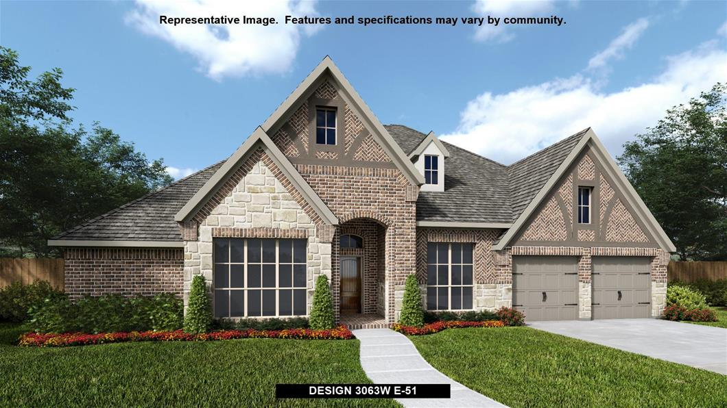 New Home Design, 3,063 sq. ft., 4 bed / 3.5 bath, 3-car garage