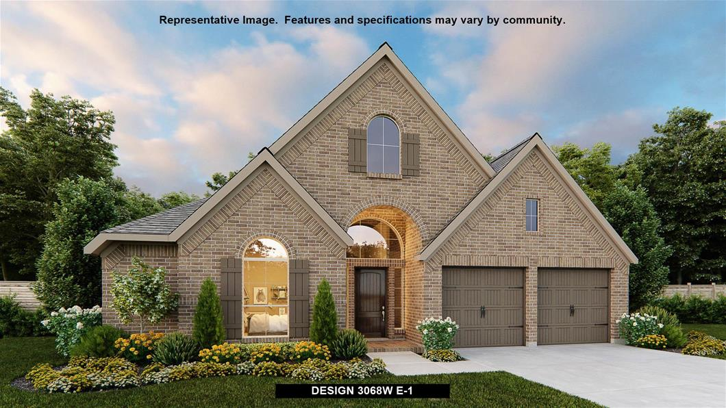 New Home Design, 3,068 sq. ft., 4 bed / 3.0 bath, 2-car garage