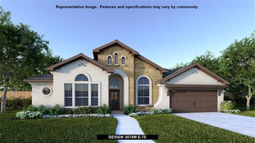 New Home Design, 3,074 sq. ft., 4 bed / 3.5 bath, 3-car garage
