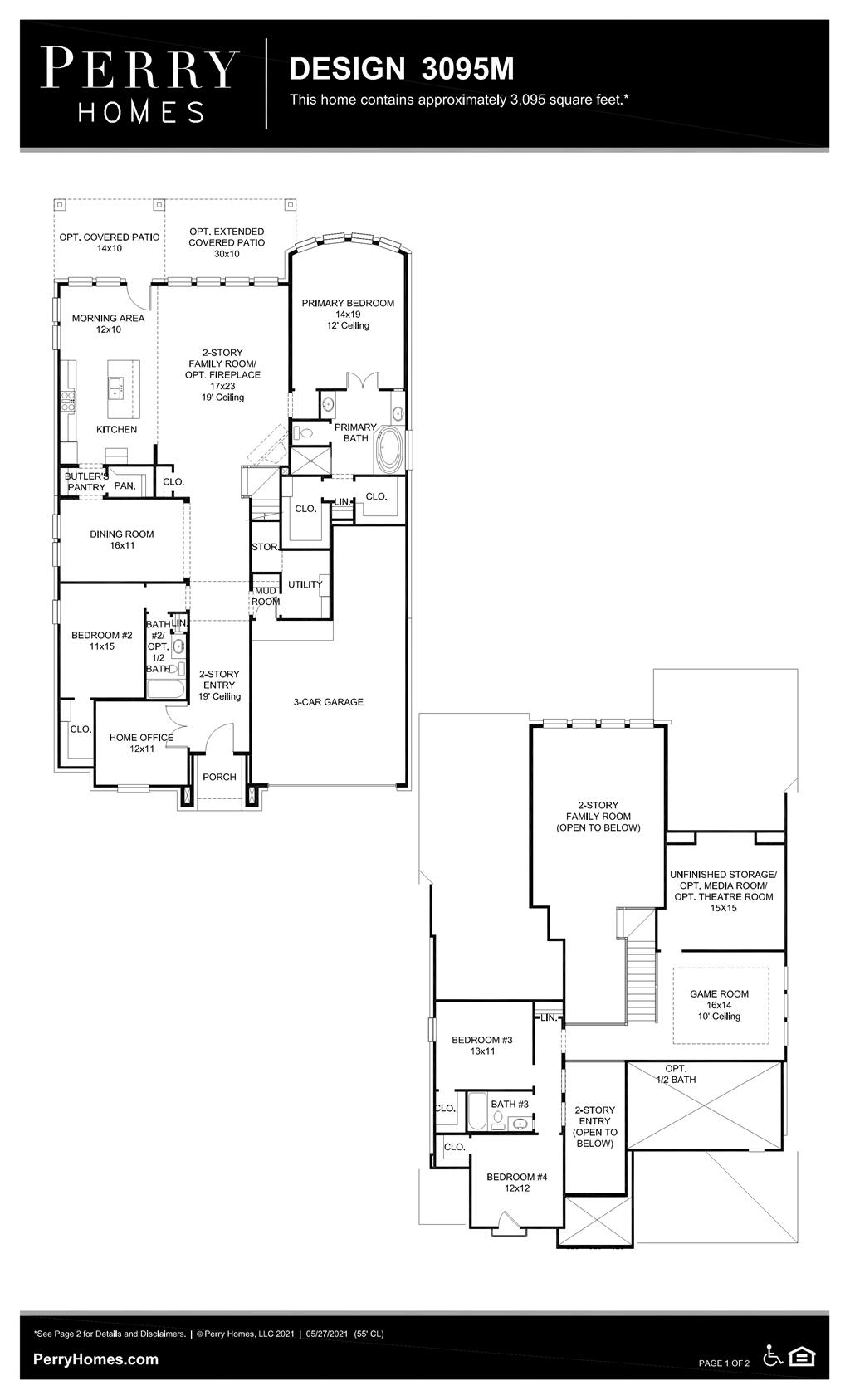 Floor Plan for 3095M