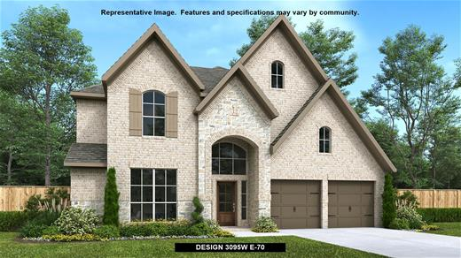 New Home Design, 3,095 sq. ft., 4 bed / 3.5 bath, 3-car garage