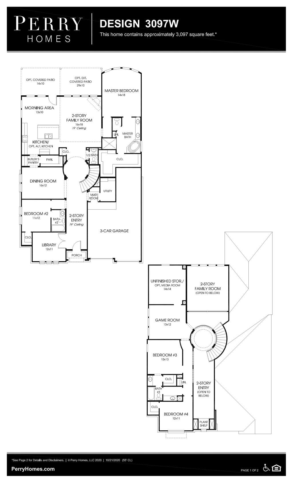 Floor Plan for 3097W