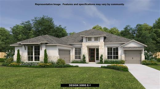 New Home Design, 3,099 sq. ft., 4 bed / 3.0 bath, 3-car garage