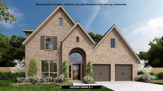 New Home Design, 3,099 sq. ft., 4 bed / 3.5 bath, 3-car garage