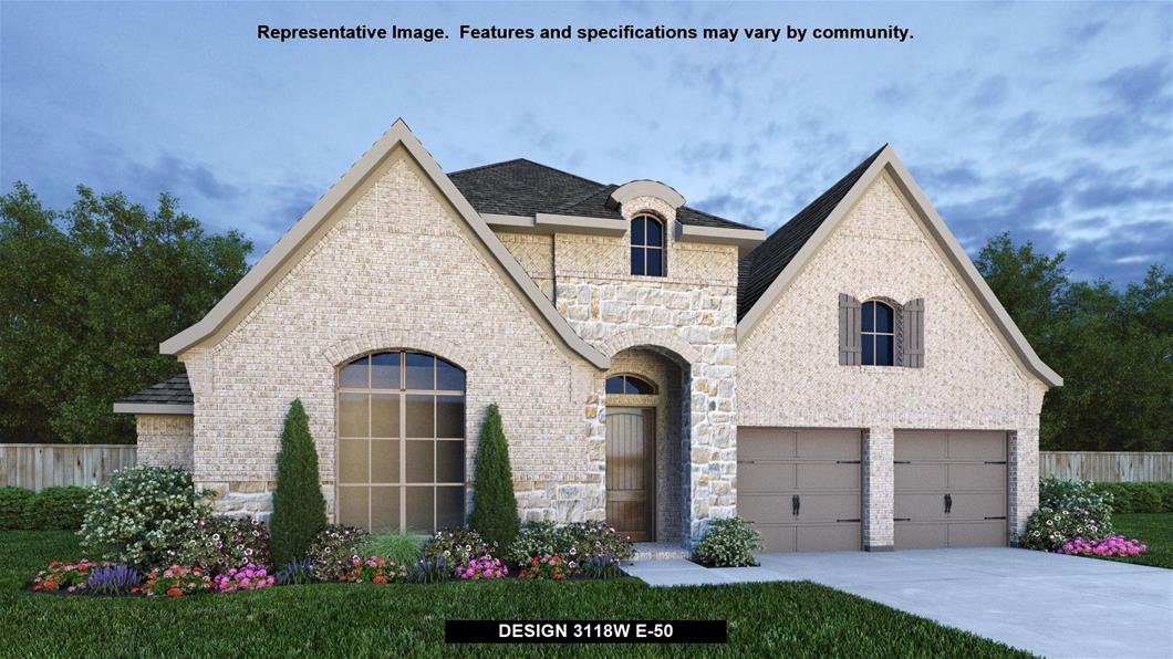 New Home Design, 3,118 sq. ft., 4 bed / 3.0 bath, 3-car garage