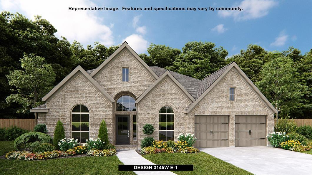 New Home Design, 3,145 sq. ft., 4 bed / 3.0 bath, 2-car garage