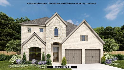 New Home Design, 3,190 sq. ft., 5 bed / 4.5 bath, 3-car garage