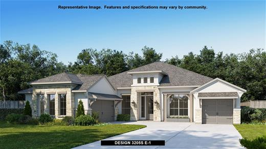 New Home Design, 3,205 sq. ft., 4 bed / 3.0 bath, 3-car garage