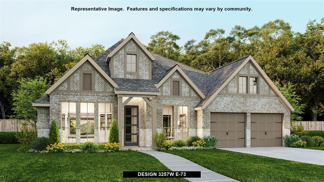 New Home Design, 3,257 sq. ft., 4 bed / 3.5 bath, 3-car garage
